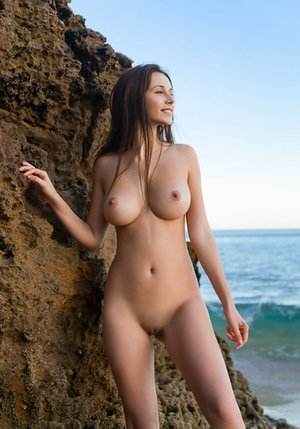 Nude Boobs on Beach Pictures